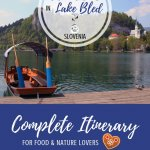 Things to Do in Lake Bled, Slovenia Pinterest Pin