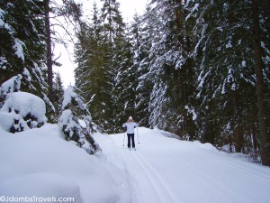 Miles of Cross Country Ski Trails at Dobbiaco