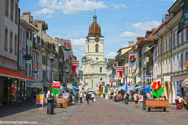 Morges Old Town