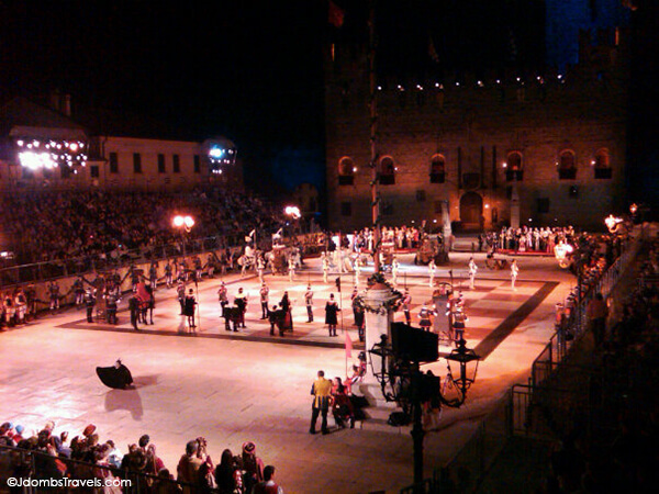 Marostica Human Chess Game