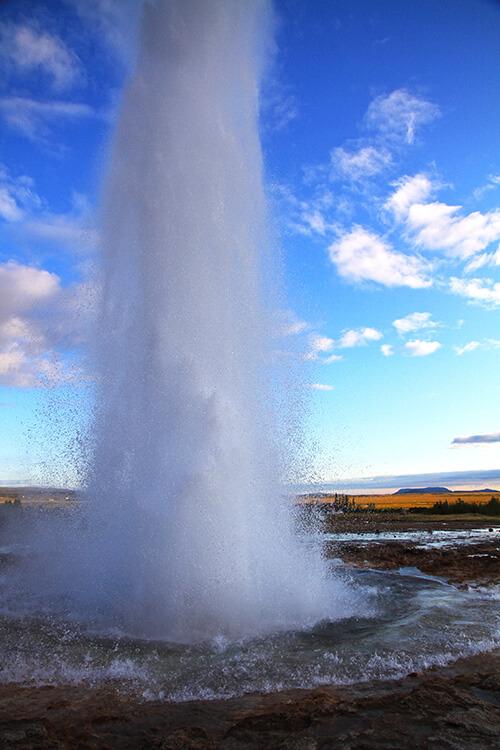 Geysir, Golden Circle, Iceland