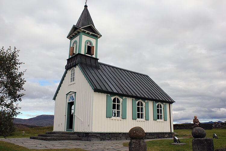 Pingvallakirkja Church, Thingvellir National Park