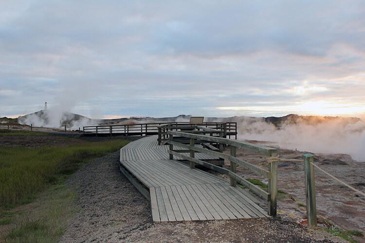Gunnuhver Hot Spring, Reykjanes Peninsula, Iceland