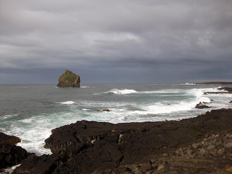 Reykjanesta Cliffs, Reykjanes Peninsula, Iceland