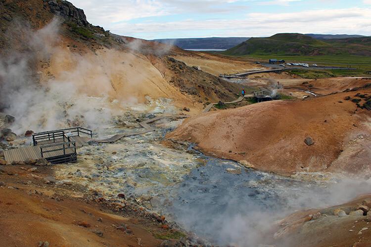 Seltun Hot Springs, Reykjanes Peninsula, Iceland
