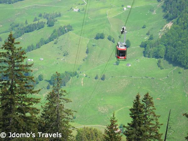Ebenalp aerial tramway