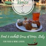 Venice Food Tours Pinterest Pin