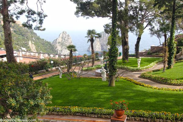 Augustus Gardens Capri