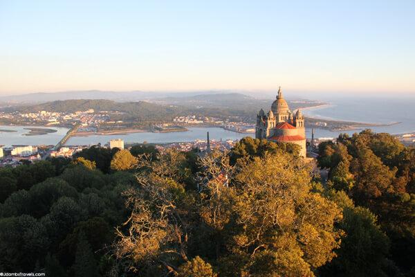 View from Pousada Monte Santa Luzia