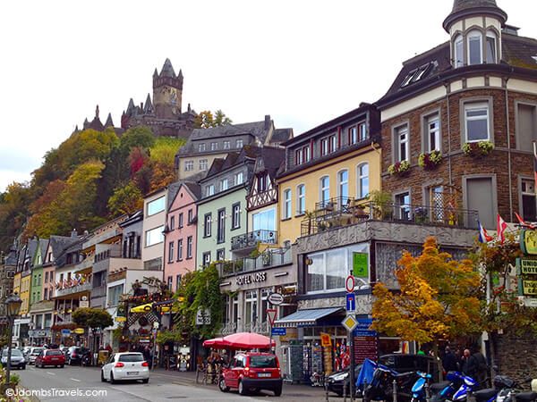 Cochem and the moselle river valley