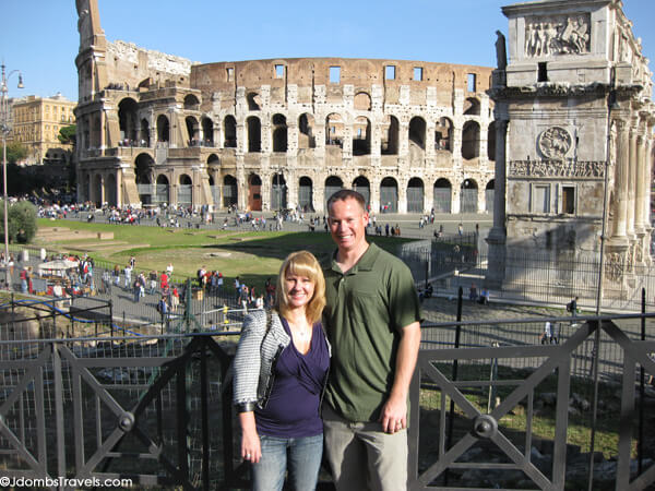 Tim and I in Rome