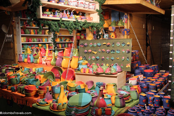 Hungarian pottery at the Budapest Christmas Fair