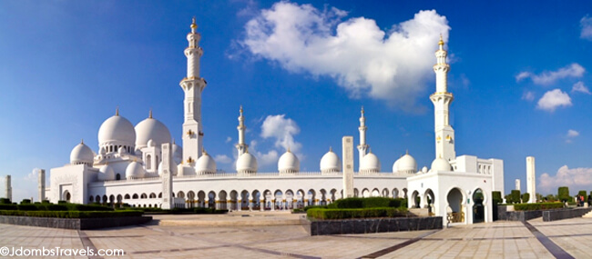 Outside of the Grand Mosque