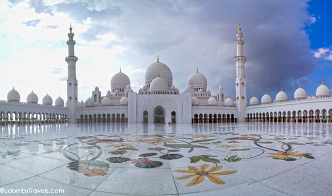 Sheikh zayed grand mosque luxe adventure traveler for Hispano international decor abu dhabi