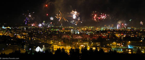 Iceland New Years Eve