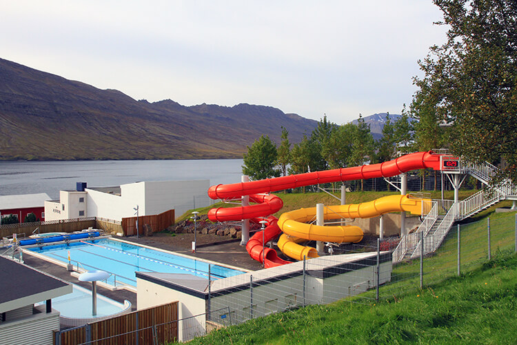 Neskaupstadur swimming pool