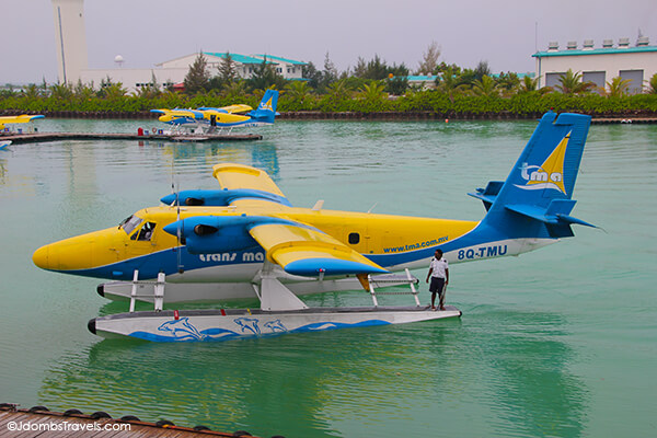 flying in a seaplane over the maldives luxe adventure traveler
