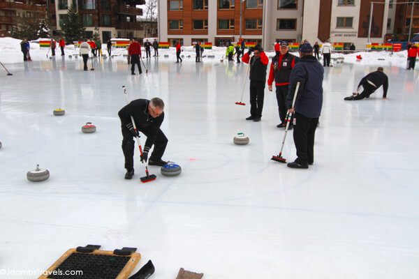 Curling in Zermatt