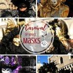 Venice Carnival Masks Pinterest Pin