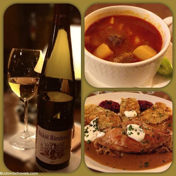 Hungarian cuisine at Palinka Bistrot