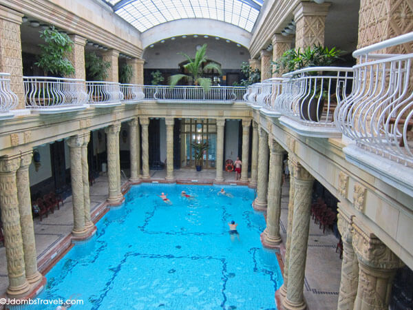 Battle of the budapest famous baths luxe adventure traveler - Hotels in bath with swimming pool ...