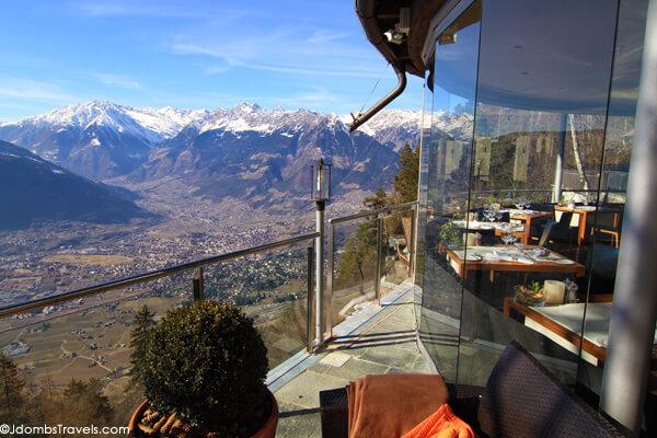 10 best restaurant views luxe adventure traveler for Sudtirol boutique hotel