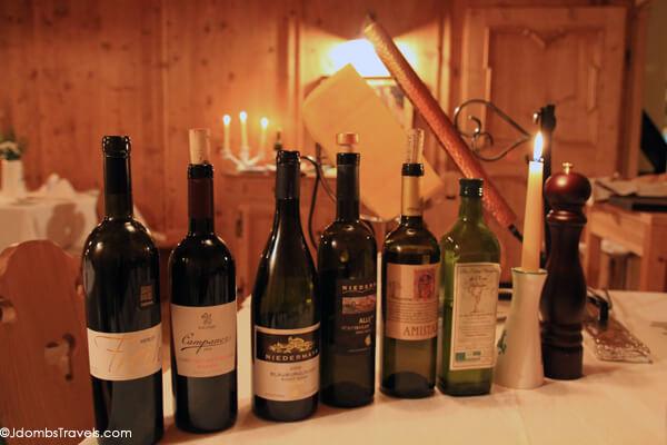 Wine wednesday s dtirol wine luxe adventure traveler for Sudtirol boutique hotel