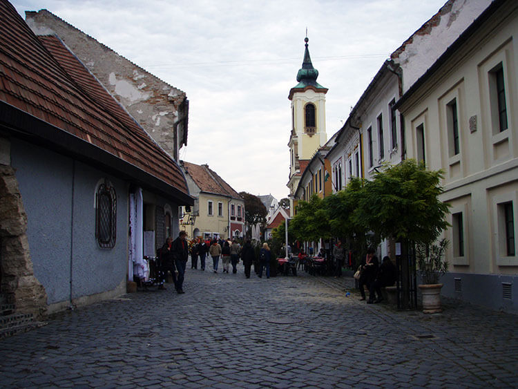 The charming village of Szentendre