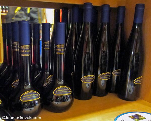 Virvatulet Finnish wine