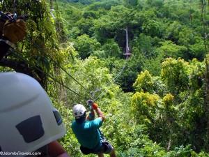 Zip Line Adventure in Antigua