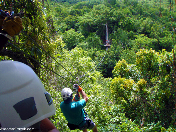 Antigua Rain Forest Canopy Tour