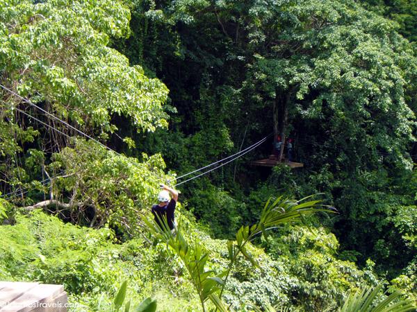 Antigua Rain Forest Canopy Tour
