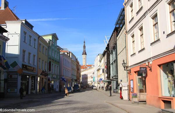 Viru Street Tallinn