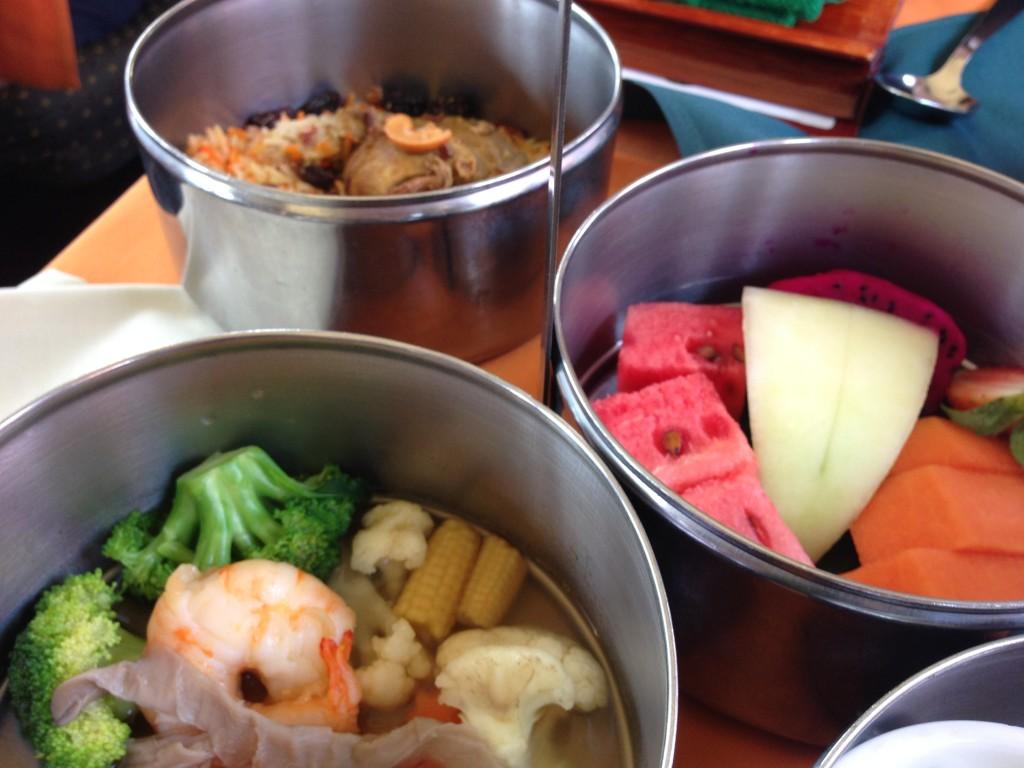 Box lunch on North Borneo Railway