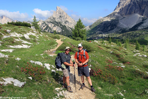 Osprey Backpack in the Dolomites