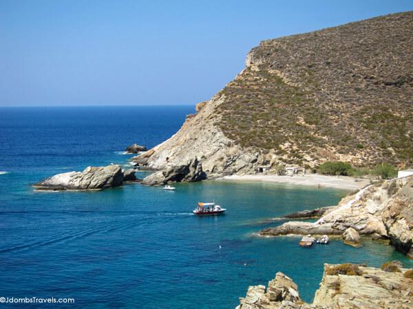 Agios Nikolaos Beach, Folegandros