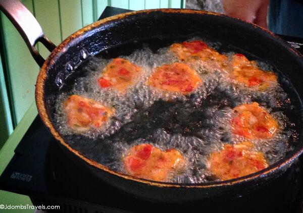 Santorini Tomato Fritters