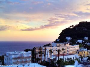 View from Capri Tiberio Palace