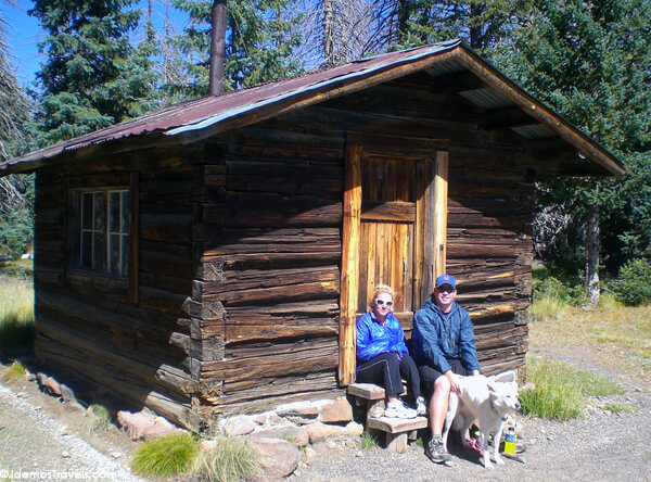 Kendrick Peak Historic Fire Lookout Cabin