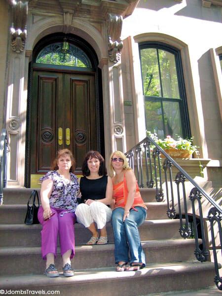 Carrie Bradshaw's steps
