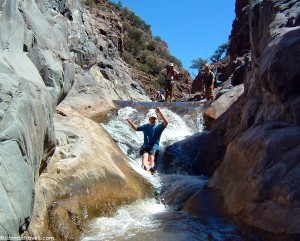 Cool off in the AZ heat by spending a day cooling off at Tonto Creek.