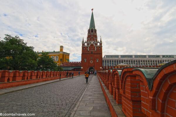 Troitskaya Tower Moscow Kremlin
