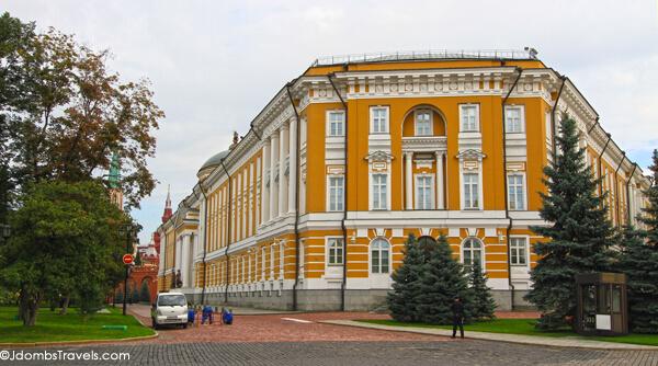 Senate Building Moscow Kremlin