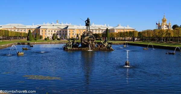 Poseidon and the Grand Peterhof Palace