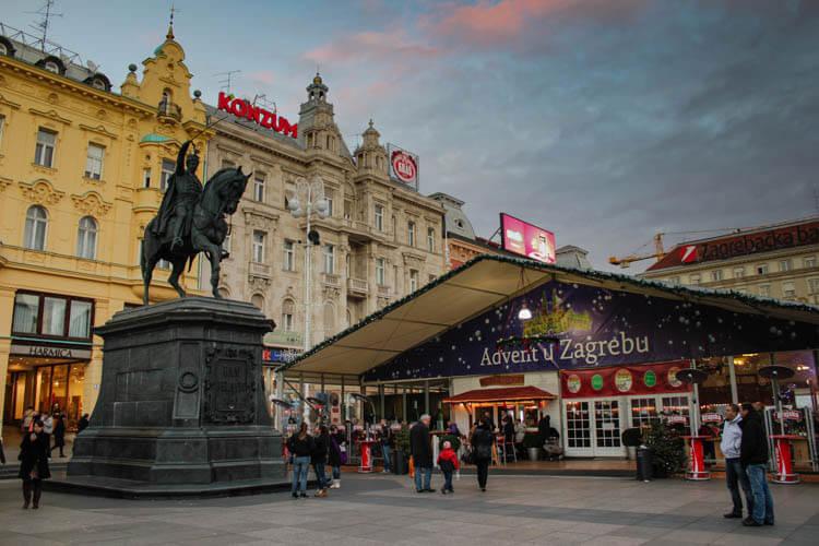 Zagreb Christmas Market, Zagreb, Croatia