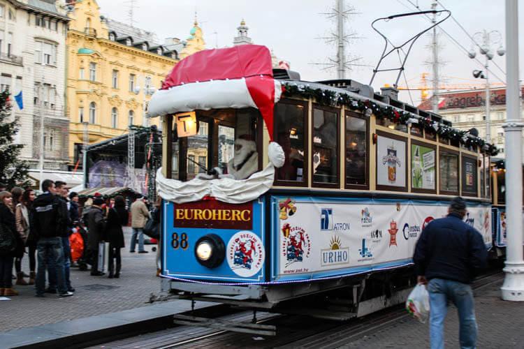 Jolly Holiday Tram, Zagreb, Croatia