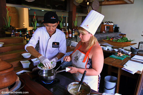 Anantara Spice Spoons Thai Cooking Class