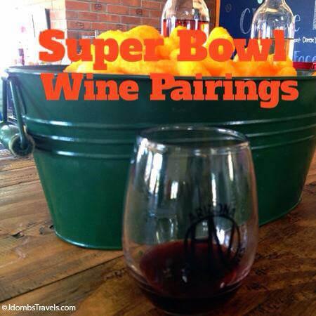 Super Bowl Wine Pairings