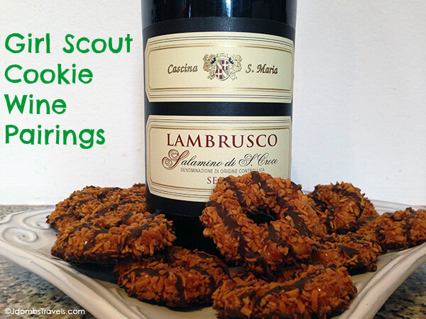 Girl Scout Cookie Wine Pairings