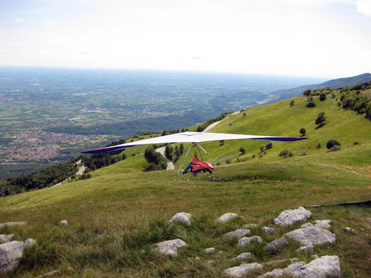 Gliding at Piancavallo
